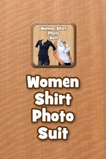 Women Shirt Photo Suit