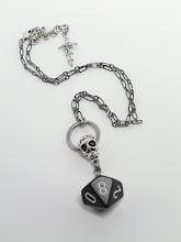 Photo: Stonekeep Knocker D10 Pendant http://kitzmiller.bigcartel.com/product/stonekeep-knocker