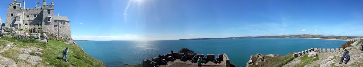Photo: St Michael's Mount gun battery.
