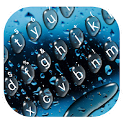 App Cool Raindrops Water Keyboard Theme APK for Windows Phone