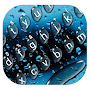 Cool Raindrops Water Keyboard Theme APK icon