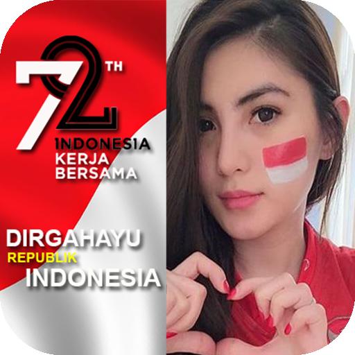 Bingkai Foto Profil Kemerdekaan Indonesia
