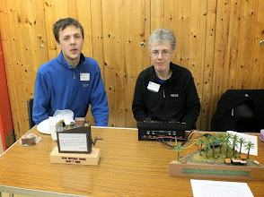 Photo: 021 Beds & Bucks NGM members Dawn Figg and son, Danny are regular participants at Barton Le Clay and also at both ExpoNG and NG SouthWest with their fascinating range of micro layouts and competition entries .