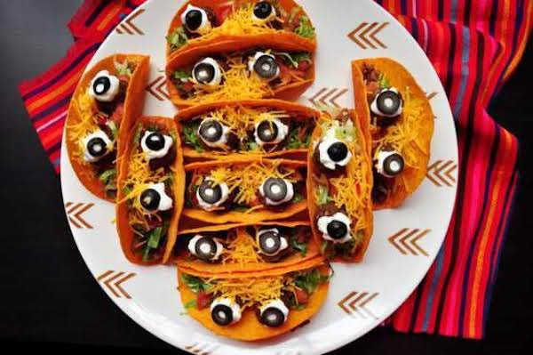 Mexican Spooky Eyeball Tacos Recipe