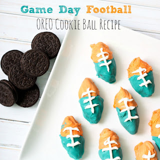 Game Day Football OREO Cookie Ball.