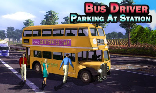 Bus Driver: Parking At Station