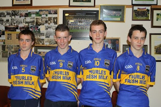 Photo: Under 14 county players