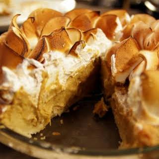 Spiced Heirloom Pumpkin Pie.