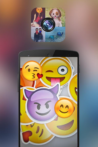 Emoji Camera Sticker Maker Pro
