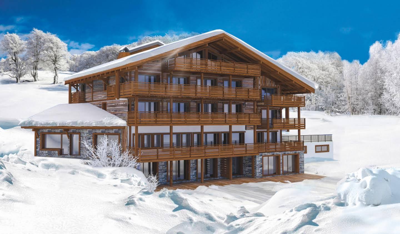 Appartement avec terrasse et piscine Megeve
