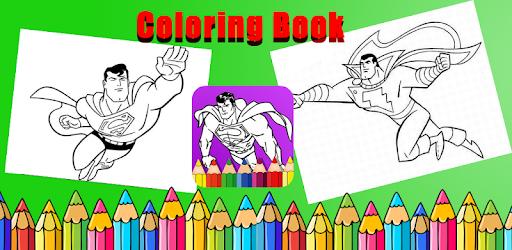 Descargar Colorear Superhéroes Juegos Super Pintar Hombre Libro para ...