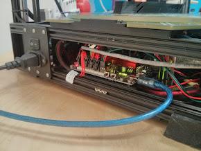 Azteeg X5 Mini Board Mount for Kossel Pro