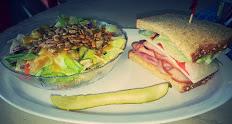 Salad and a Half Deli Sandwich