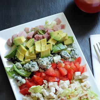 Turkey and Ham Cobb Salad.