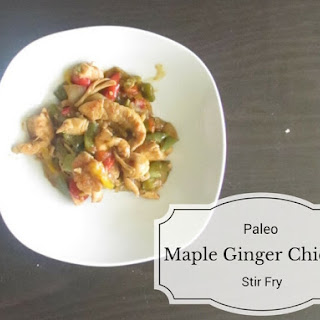 Paleo Maple Ginger Chicken Stir Fry