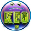KEO - Frog jump one way icon