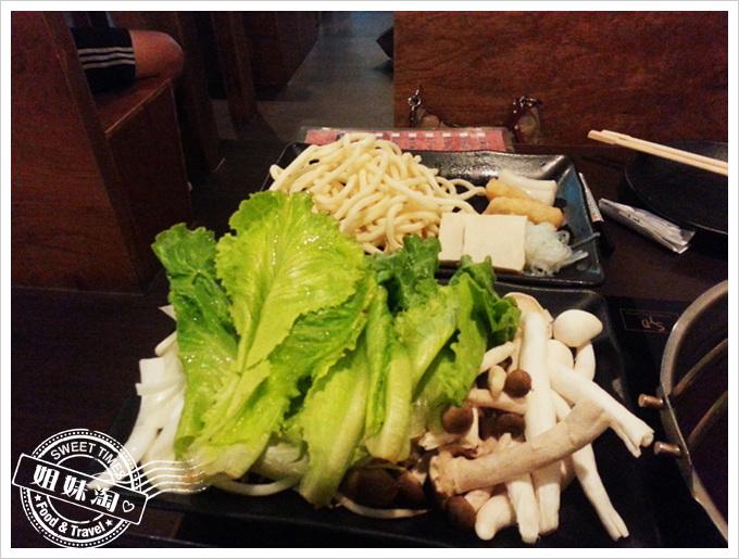 御鋤燒壽喜燒蔬菜盤