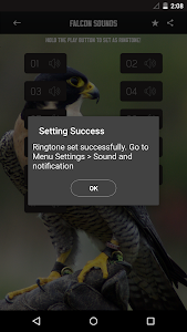 Peregrine Falcon sounds screenshot 2