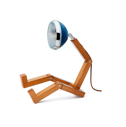 Mr Wattson Bordslampa Cobra Blue