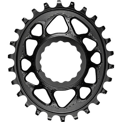 Absolute Black Oval Narrow-Wide Direct Mount Chainring - CINCH Direct Mount, 3mm Offset