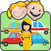 Jobs & Cars Game for Toddlers