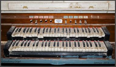 Photo: kaputte und verschmutzte Grüneberg Orgel Stettin