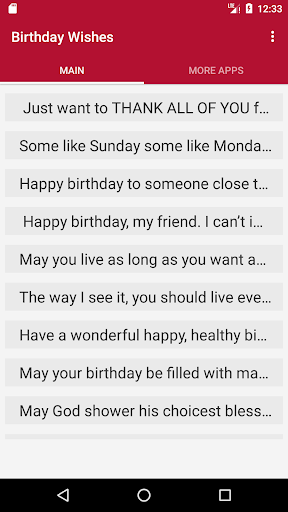 birthday wishes in english google play softwares