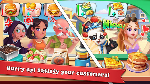 Rising Super Chef 2 : Cooking Game  captures d'u00e9cran 1