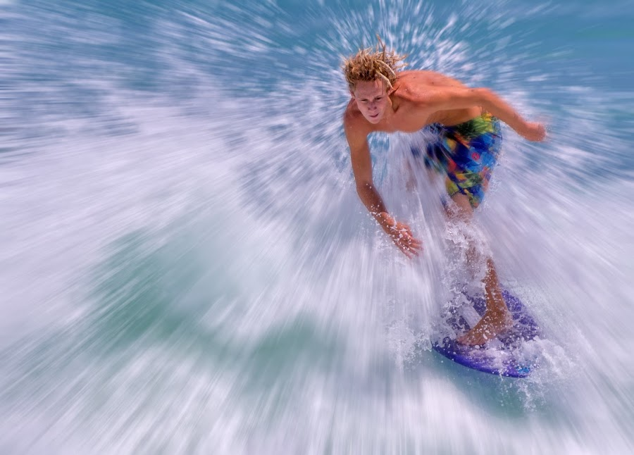 Skimboarding by Courtland Roberts - Sports & Fitness Surfing