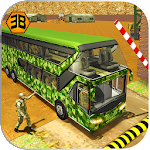 Army Bus Driving 2017 - Military Coach Transporter Icon