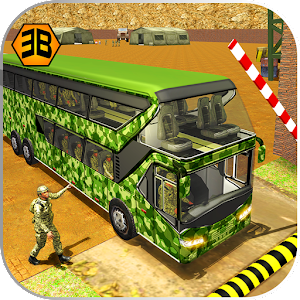 Army Bus Driving 2017 - Military Coach Transporter