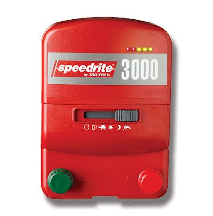 Elstängselaggregat Speedrite 3000 - 230 Volt & 12 Volt