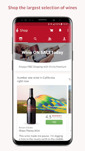 Vivino: Buy the Right Wine Android App Screenshot