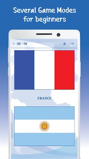 The Flags of the World u2013 Nations Geo Flags Quiz 5.1 screenshots 13