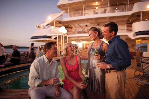 Repeat customers on upscale and expedition cruises can take advantage of exclusive events and cocktail parties, cabin upgrades, reduced fares and other perks.