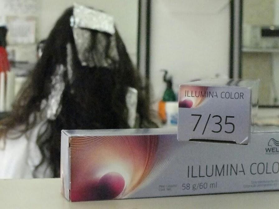 Coloração Illumina da Wella
