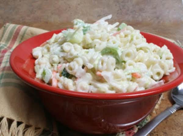 Pasta Cucumber Salad