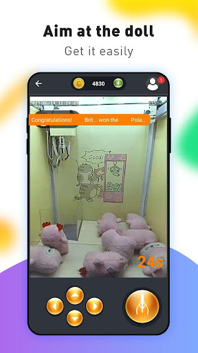 Clawing-Real Claw Machine Game  captures d'u00e9cran 2