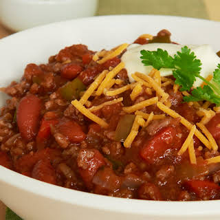 Dad's Famous Chili.