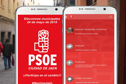 Candidato PSOE Jaén