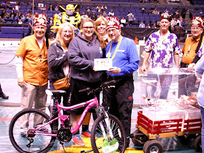 Photo: 21st bike winner