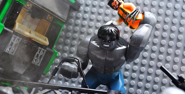 Gopleg LEGO Monster-Hero Batle - náhled
