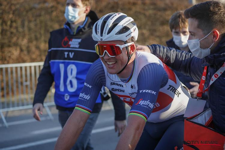 """Pedersen verzeild in derde groep en toch nog gewonnen: """"Omloop was behoorlijk slecht, gereageerd op goede manier"""""""