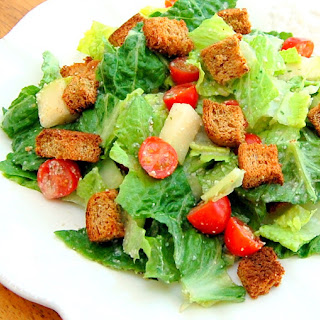 Divine Vegan Caesar Salad.