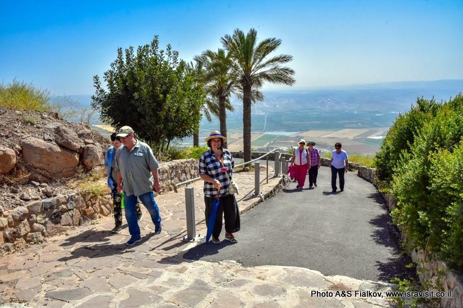 Гид в Израиле Светлана Фиалкова. Иорданская долина.