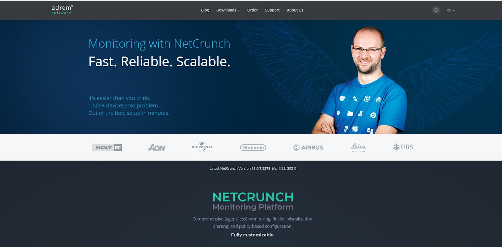 NetCrunch Network Monitoring Tools