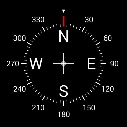 Digital Compass Icon