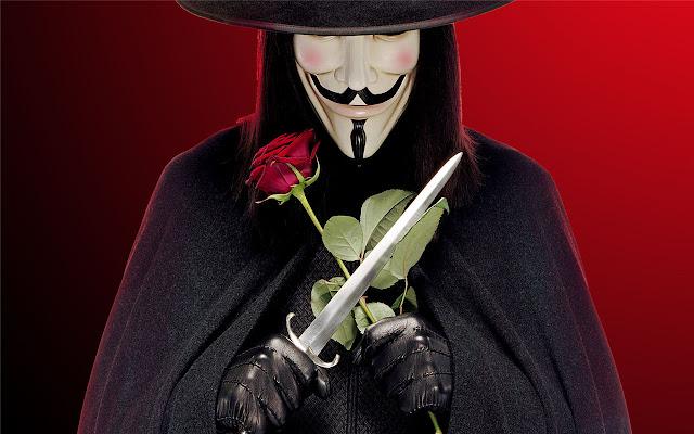 V For Vendetta Themes New Tab