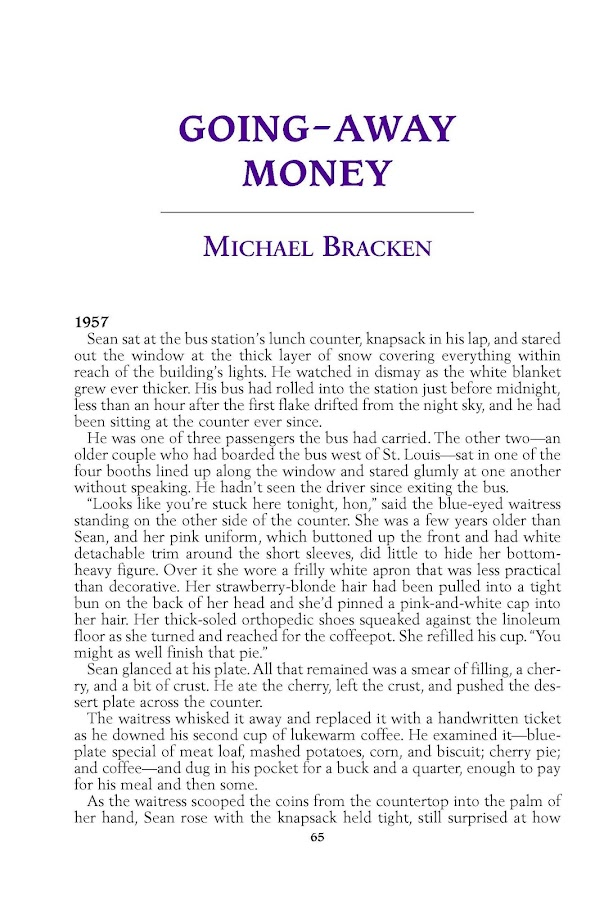 Alfred Hitchcock Mystery Magazine- screenshot