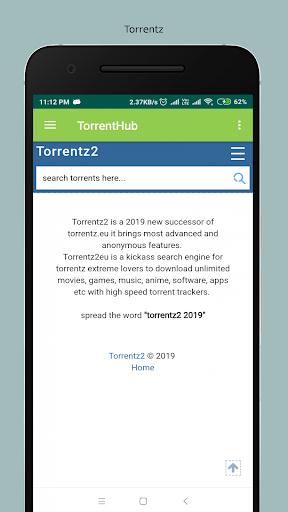 torrentz2 movie app